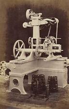 1873 ORIGINAL photo of a Gear Cutting Machine, William Sellers, Philadelphia