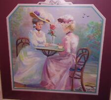 Home Interiors Victorian Ladies Garden Tea Time Thru Gods Grace Bettie H. Felder