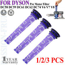 1/2/3P Pre-Filters for Dyson V6/V7/V8/DC58/DC59/DC61/DC62 Replacement 965661-01