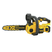 DEWALT DCCS620P1 20V MAX 5.0 Ah Li-Ion 12 in. Compact Chainsaw Kit New