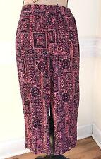 Womens Size M Petite Susan Graver Stretch Capri Cropped Pants Hot Pink Navy Blue