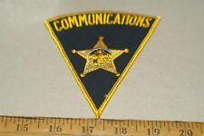 COMMUNICATIONS PATCH NEW