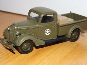 SOLIDO 1936 FORD V8 MILITARY PICK UP