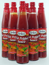 Grace Very Hot Pepper Sauce -3 oz ea (6 Pack)
