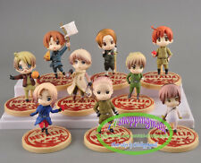 9pcs Set ! Axis Powers Hetalia anime cute pvc toy doll figures, Lot!!!!! Rare!!!