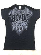 AC/DC Black Ice Girlie T Shirt New Medium