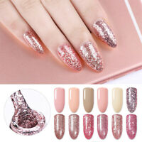 10ml Born Pretty Rose Gold Soak Off UV Gel Polish Nail Art Gel Varnish