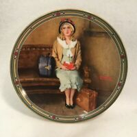 """Vintage Norman Rockwell Collector Plate by Knowles - """"A Young Girl's Dream"""""""
