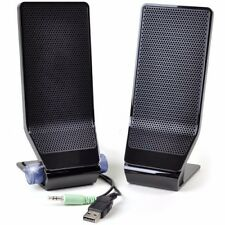 Acer MS1238UA 2-pcs USB Powered PC Speaker Set w/3.5mm Jack (Black)