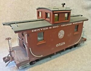 Accucraft / AMS Short Caboose - Moffat - #528 - 1:20.3 - Custom Weathered