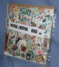 NEPAL - COLLECTION OF 685 DIFFERENT STAMPS.