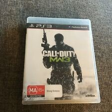 PS3 PLAYSTATION CALL OF DUTY MW3 PLUS MANUAL