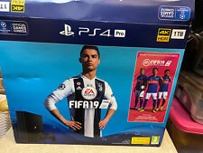 Sony PlayStation 4 Pro 1TB Video Game Console - With 2 Games And Controllers