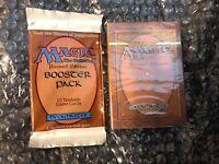 Magic MTG 3rd Edition (Revised) Starter Deck And Booster Sealed! Pristine Deck