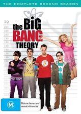 THE BIG BANG THEORY SECOND SEASON 2 (4 DVD) JIM PARSONS ***