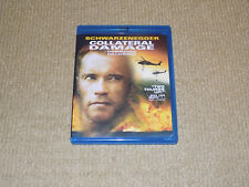 COLLATERAL DAMAGE, BLU-RAY, SCHWARZENEGGER, EXCELLENT CONDITION