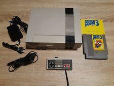 NES / Nintendo Entertainment System Konsole + Super Mario Bros 3