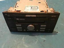 FORD FOCUS C-MAX FIESTA RADIO CAR AUDIO CD PLAYER 5M5T-18C815-FB 10R021645