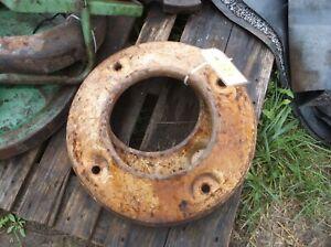 Massey-Harris Pony Rear Wheel Weights