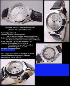 Jacques Cantani Designer Mens Watch Stainless Steel Automatic Miyota 8215 Japan