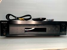 Sony DVP-S7700 DVD/Video CD/ CD Player Remote Deluxe Cables New Batteries