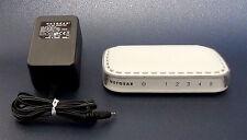 NETGEAR - Switch Ethernet / Internet FS605 v3 + Prise Secteur