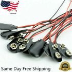 New Pack of 10 9V Battery Connector Snap Clip Wire Connector Lead Holder T Type