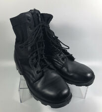 """Rothco - Black Jungle Boots - Military Combat - Lace Up - Size 6R  - 9.5"""" Tall"""