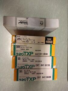 4x5 film Kodak 320 TXP, TMAX 400, Arista edu ultra 400