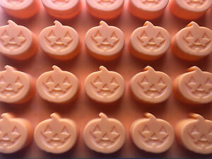 Halloween Pumpkins JOL Silicone Baking Chocolate Candy Making Ice Mold