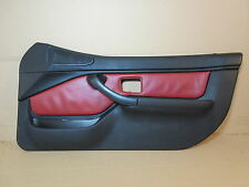 98 BMW Z3 M Roadster E36 #1009 Right Door Panel Black & Red