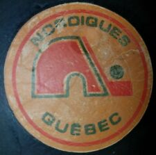 VINTAGE  VICEROY OFFICIAL GAME  PUCK  QUEBEC NORDIQUES 1973-83 RARE OLD BEAUTY
