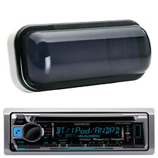 New Kenwood CD Radio iPod iPhone Direct Input Receiver Radio w/ Waterproof Cover