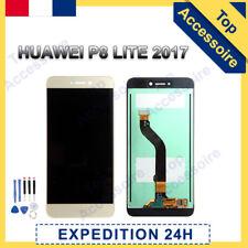 VITRE TACTILE + ECRAN LCD ORIGINAL PRET-A-MONTER POUR HUAWEI P8 LITE 2017 OR