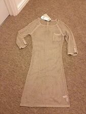 NEXT BEIGE TUNIC DRESS SIZE 10 TALL UK NEW WITH TAGS