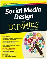 Social Media Design For Dummies by Janine Warner, David LaFontaine...