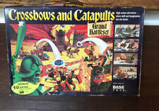 VINTAGE Crossbows & Catapults Grand Battleset RARE! 1992 Base Toys