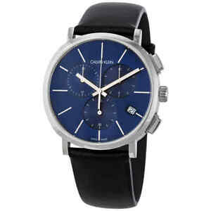 Calvin Klein Chronograph Quartz Blue Dial Men's Watch K8Q371CN