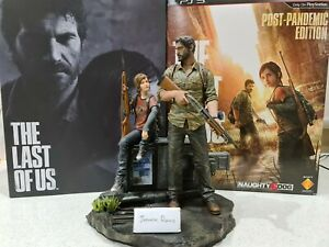 Joel and Ellie Statue from Last of Us 1 Post Pandemic Limited Collectors Edition