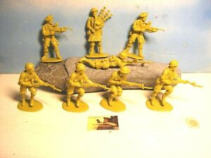 Soldatini Cloni Matchbox Made in China British Infantry plastica scala 1:32