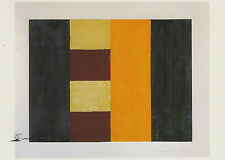 Art Carte/postcard Art-sean scully: santa Barbara, série # 35