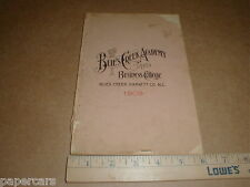 Vintage 1909 Buie's Creek Academy & Business Campell College Catalog Booklet Nc