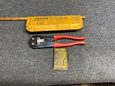 Vintage Buchanan C24 Pres-Sure Electrical Crimping Tool W/ Box Instructions