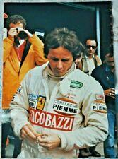 FOTO PHOTO GILLES VILLENEUVE IMOLA FERRARI GIACOBAZZI G.P. SAN MARINO 1982