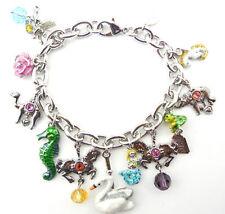 Kirks Folly ~ Carousel Dream Charm Bracelet ~ antique silvertone ~ NWT ~ SALE !!