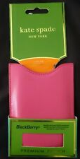 Kate Spade New York Black Berry Phone Case Pouch - CURVE 8500, BOLD 9700, Storm