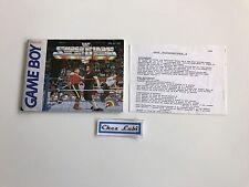 Notice - WWF Superstars 2 - Nintendo Game Boy - PAL NOE