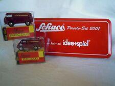 """Schuco 05202 Piccolo-Set 2001: VW & DKW """"Deutsche Bundesbahn"""",  NEU & OVP"""