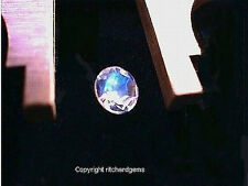 RARE FACETED 5 MM ROUND RAINBOW MOONSTONE