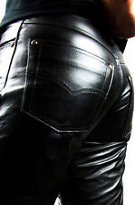 Jeans Men Women FIT Leather Jeans Fuente Deluxe Number 1 in the Leather products